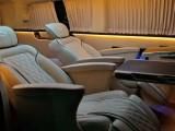 汽车内饰翻新改装升级商务车内饰改装升级航空座椅木地板安装