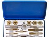 台湾西玛工具 12件套公制丝锥扳牙套装