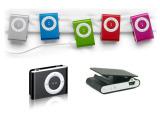 厂家批发 sport运动便携迷你小夹子mp3 金属插卡礼品MP3