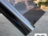 防晒太阳膜银色单透膜阳光房雨棚玻璃贴膜包安装