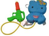 夏日必备 儿童背包式水枪玩具KT猫 压射程远沙滩玩具批发