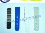 订购硅胶制品高中低档手表带 彩印弯头表带到琨埴