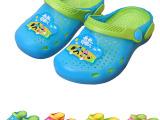 夏季新款儿童凉拖鞋卡通爸爸去哪儿花园鞋男女童鞋家居洞洞果冻鞋
