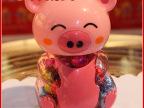 生产直销 小花猪大球型巧克力豆 巧克力豆喜糖