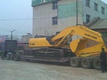 江都到全国挖机 运输 一定要找靠得住的 鑫地物流公司