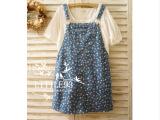 2014春夏新款 森林系漫天星星七彩显瘦童趣背带裙