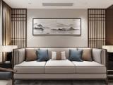 珠江城爱丽舍庄园258平新中式风格装修设计