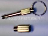 电视信号控制锁头,有线电视器材,防水尾缆头,电缆连接器,配件