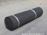 亿和纺织现货供应 黑色涤纶2M宽保温无纺布 防寒保温 低价批发