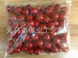 仿真水果苹果/仿真水果 红苹果 花配件仿真水果 泡沫水果 工艺品