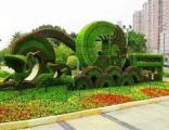 菏泽正规仿真绿雕 景界园艺