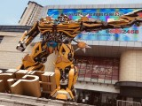 擎天柱大黃蜂出租 變形金剛租賃 大型專業展覽道具出售
