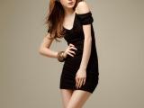 2013新款韩版性感夜店装女装修身包臀裙连衣裙打底裙吊带裙