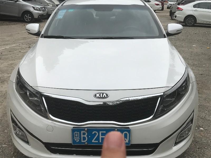 转让 轿车 起亚K5 深圳牌 以租代购