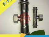 304不锈钢卫生级卡压三通饮用水管接头