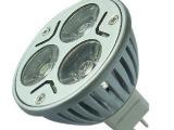 输入12v-24v 3w射灯 led插针MR16节能灯 射灯天花