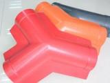 广东河源ASA合成树脂瓦配件 三通瓦 塑料琉璃仿古瓦