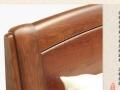 个人转让品牌双叶家具实木带四抽屉储物床