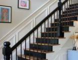 专业实木楼梯,别墅、复式、玻璃、旋转楼梯定制