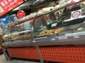不锈钢加热熟食柜,超市常温不锈钢熟食柜,组合式转角柜