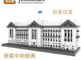 LOZ德国俐智积木钻石积木建筑系列9374白金汉宫益智玩具积木批