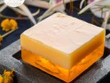 蜂蜜精油皂 蜂蜜手工皂   黄金八晶双层