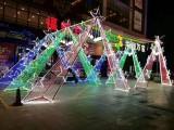 深圳灯光节制作出租,树木亮化布展