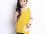 2015春季新款韩版针织儿童背心 童装一件代发 免费代理 厂家直