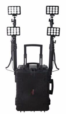 厂家供应剑火T139移动照明泛光灯