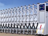 寮步电动伸缩门多少钱 寮步电动伸缩门每米价格 电动伸缩门厂家