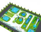 恒泰华游乐设备专业设计制作充气城堡规划水上乐园