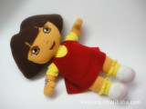 厂家直销 正版朵拉毛绒玩具儿童玩具批发 dora公仔玩偶