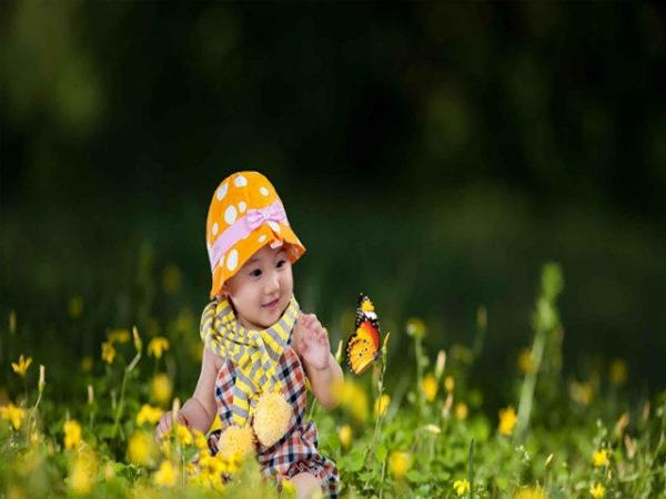 LOVE儿童摄影 写真艺术照 百天照