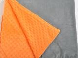 印花纯色压泡重力毯被套 压泡按摩舒缓减压