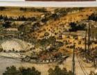 长两米高一米清明上河图十字绣,纯手工刺绣两年完成,5万转卖 -