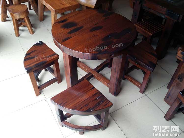 老船木家具沉船木茶台茶桌仿古实木茶几