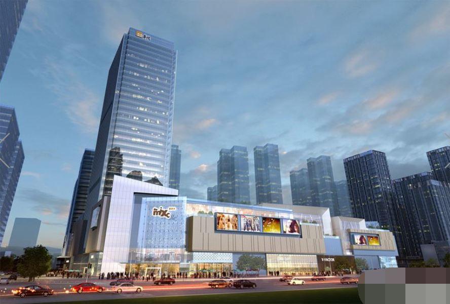 福大工业路大型高端综合体华润万象城SOHO办公40至80
