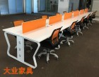 工厂直销 杭州办公家具屏风工作位2人职员办公桌4人位6人位