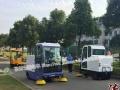 洁博士电动扫地车,十年专注生产、销售洗地机