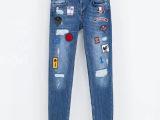 2013新款欧美版休闲牛仔裤 时尚热卖款批发 厂家直销 一件代发