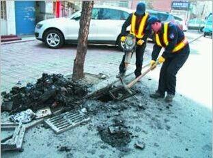 郑州中牟下水道堵了怎么办,化粪池满了怎么办,找快通清洁来解决