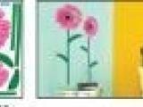 批发材料为纸和泡沫多层复合立体墙贴 泡沫贴 背景贴 XLA-008