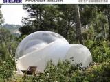 户外蒙古包PVC透明帐篷 赛尔特充气泡泡