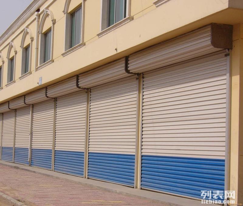 邵阳市电动手动卷闸门车库门安装维修及喷漆