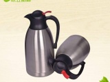 批发定制 依立特斯精品双层304不锈钢真空保温壶健康食品级咖啡壶