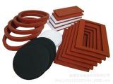 供应红色发泡硅胶垫片/ 黑色橡胶发泡/防震垫硅胶发泡垫片