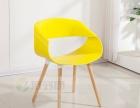 时尚餐椅批发简约塑料椅子休闲办公椅咖啡厅用椅会议椅厂家