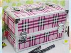英伦风潮大号化妆工具化妆铝箱专业精品首饰盒美妆工具箱多层托盘