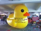 PVC大黄鸭升空气球,3.5大黄鸭水上气模