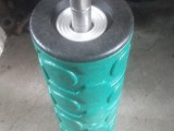 高分子托辊 PEEK高分子复合密封托辊 济宁塑料件加工厂